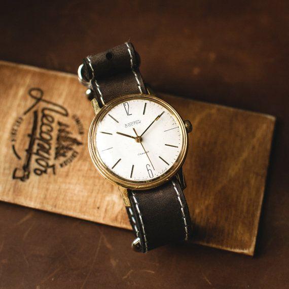 Original watch Vostok mechanical watch soviet watch от Trulesorub