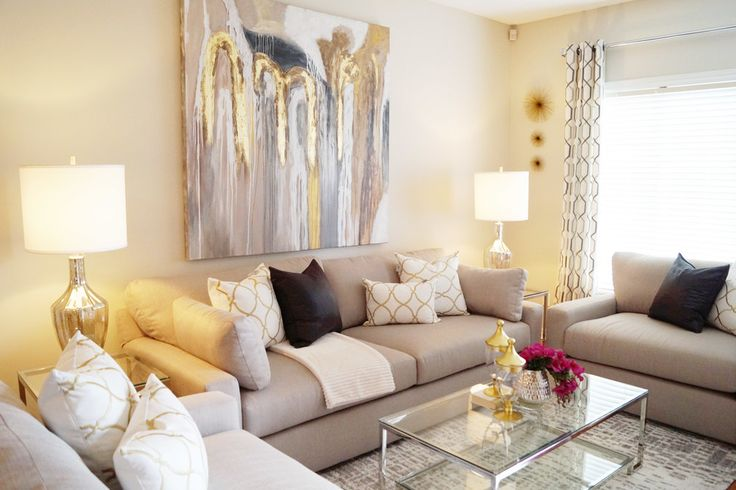Interior Design/Decor - Warm Living Room in Toronto, ON Canada by Kimmberly Capone Interior Design    www.kimmberlycapone.com