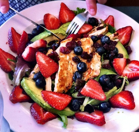Healthy Dinner Ideas: Healthy Dinners, Dinners Recipe, Shops Lists, Strawberries, Avocado Chicken Salad, Grilled Chicken, Dinners Menu, Weeknight Dinners, Dinners Idea