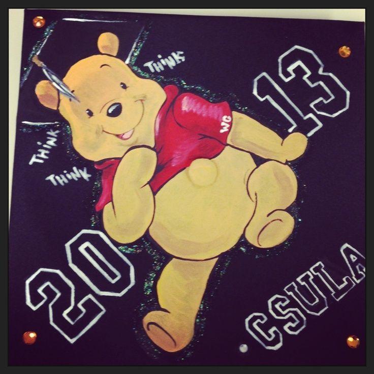 My Winnie the Pooh graduation cap - #graduation #winnie - #DecorationGraduation