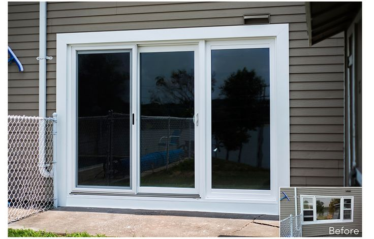 Exterior trim around sliding glass doors google search for Six foot sliding glass door