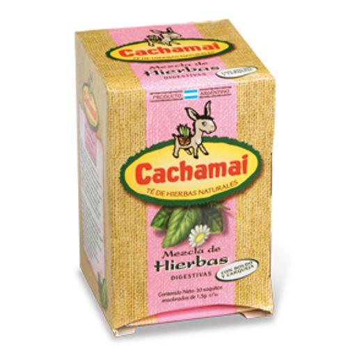 Mezcla de Hierbas digestivas con boldo y Carqueja - Cachmai