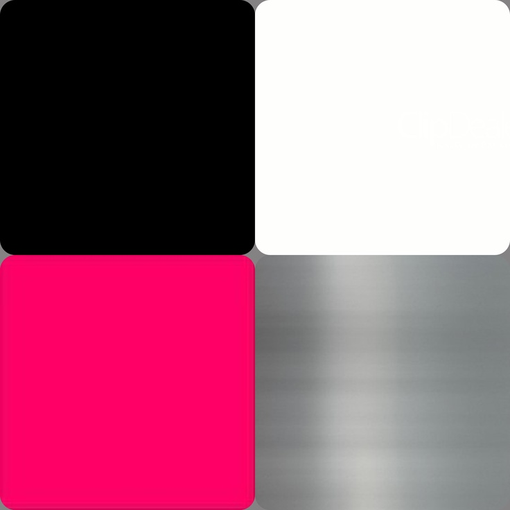 Color Scheme For My Bedroom Black White Hot Pink Brush