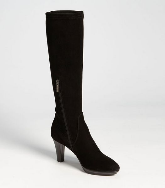 I drool over these every time I go to Nordies.  // Aquatalia Rhumba Black Suede Boots as seen on Kate Middleton