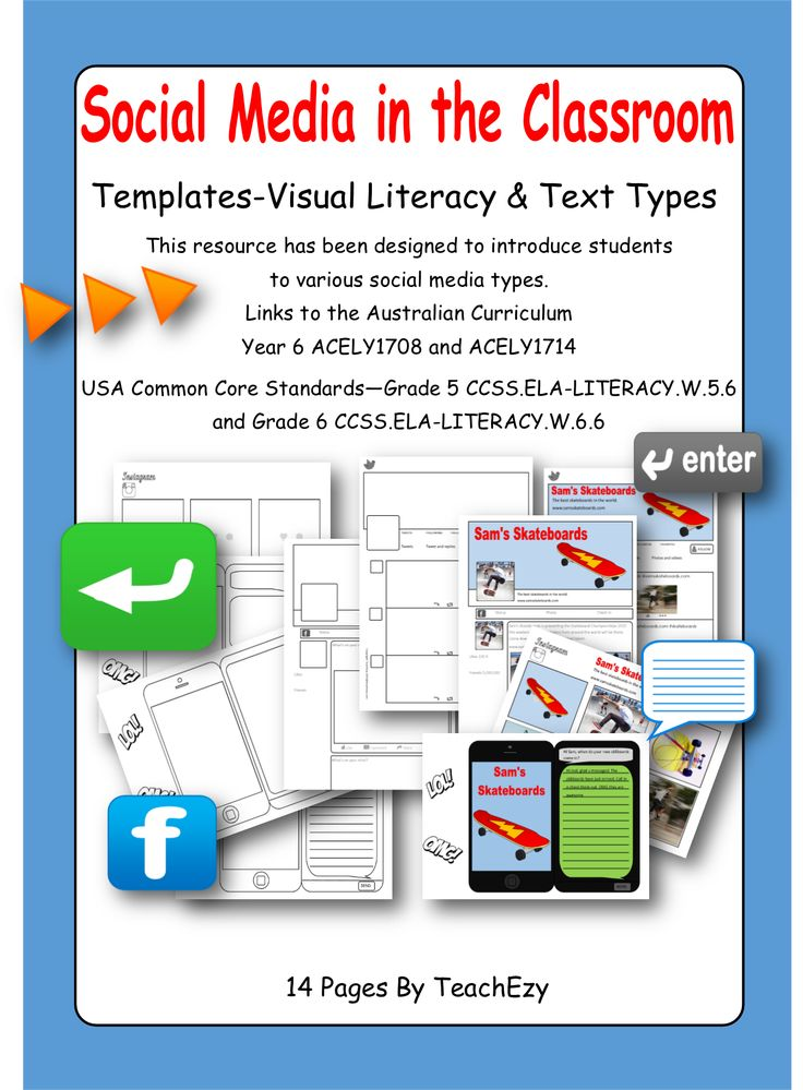 This resource has been designed to introduce students to various social media…