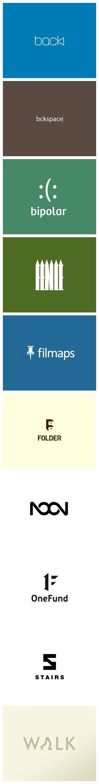 Highly Clever Minimal Logo Designs #logo #design