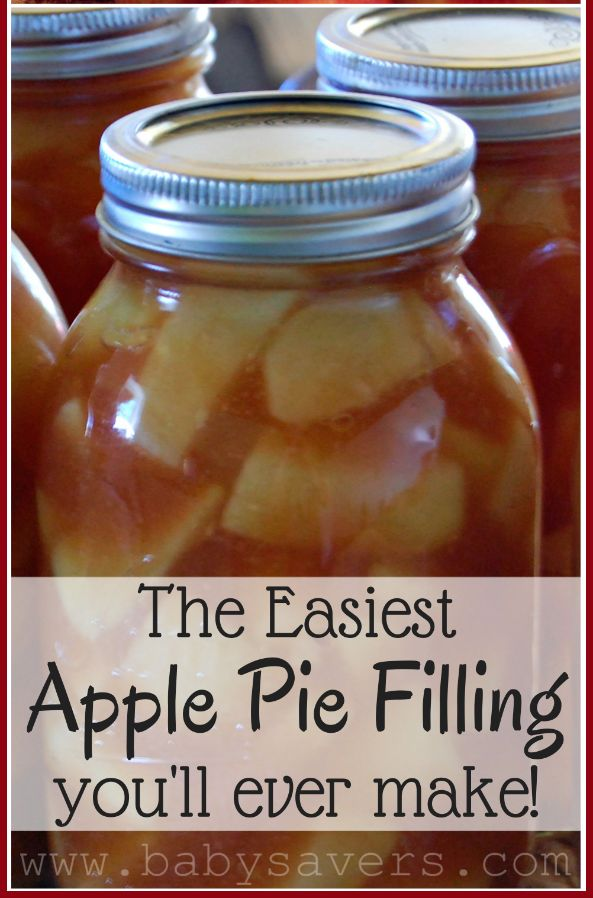 This easy apple pie filling recipe is so simple! I've also included instructions for how to use apple pie filling to make apple crisp, apple cake and more!