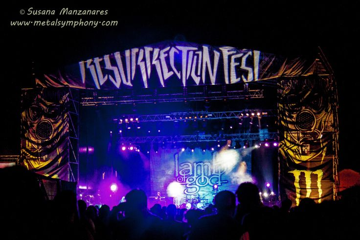 LAMB OF GOD - Resurrection Fest'13: 1 de Agosto'13 - Viveiro (Galicia)   Metal Symphony