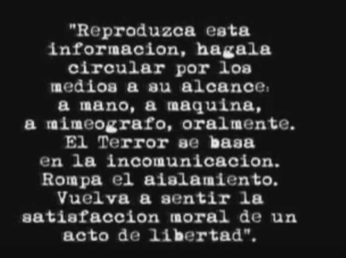 (Rodolfo Walsh 24/03/1977)