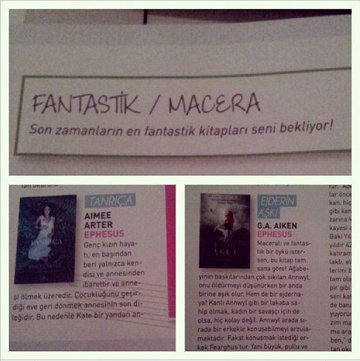 Kasım'da Heygirl'ün fantastik macera kitapları Ephesus'tan!