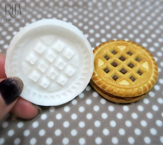 COOKIE Flexible silicone mold (5cm.)