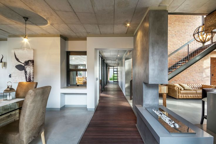 This city escape house plan gave Protea cricketer Albie Morkel the safety of estate living with an outdoor living feel for him and his family.