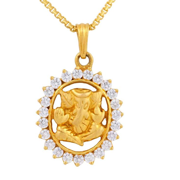 Celebrate this auspicious time with gold pendents from #MehrasonsJewellers
