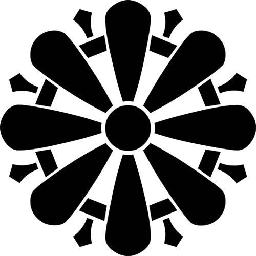 菊形輪宝(きくがたりんぽう)