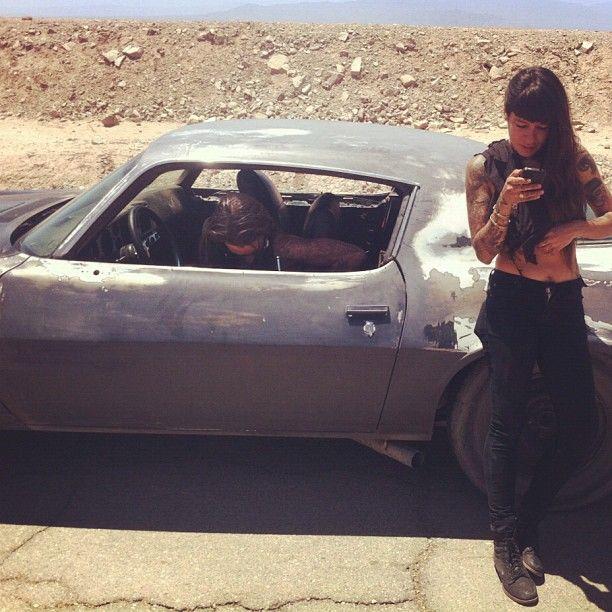 It's road trip season #VEDAland #cars #desert