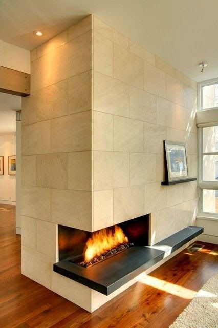 17 best images about fireplace on pinterest drywall for Contemporary corner fireplace designs