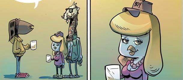Smartophonite acuta: il nuovo fumetto di ZeroV.