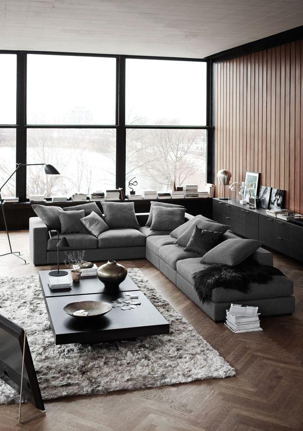 17 melhores ideias sobre sofá marrom para decoração no pinterest ...