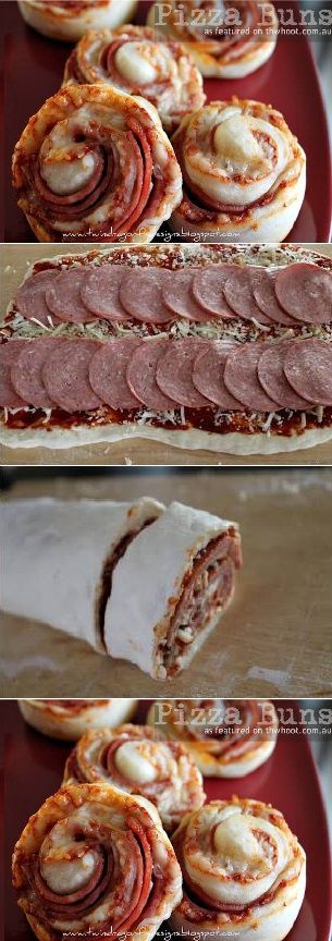 Pizza Buns Recipe