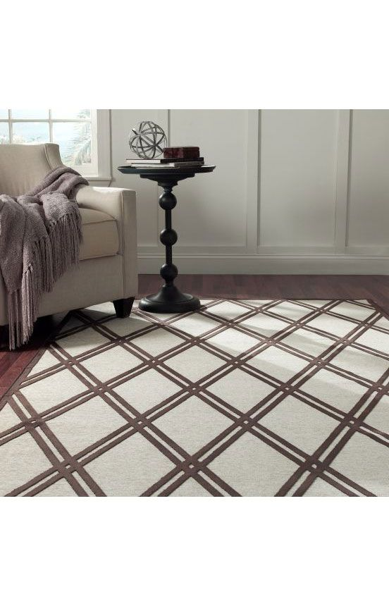 Rugs USA Velvet Trellis VL04 Brown Rug