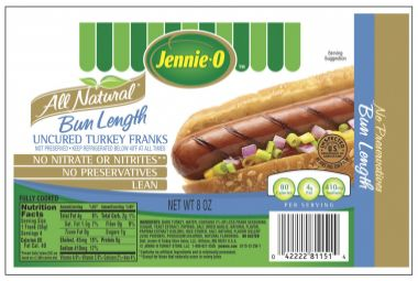 Are Jennie O Turkey Hot Dogs Gluten Free