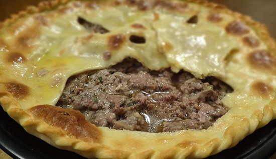 Осетинские пироги. Фыдджин (Ossetian Meat Pie — Фыдджын)