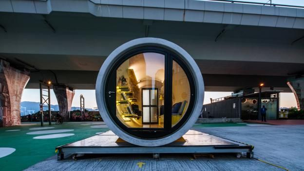 BBC - Capital - Homes made of concrete tubes could solve the housing crisis