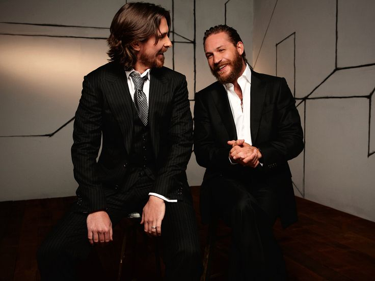 2 best actors at the moment imo #Bane #Batman #TomHardy #ChristianBale #TheDarkKnight