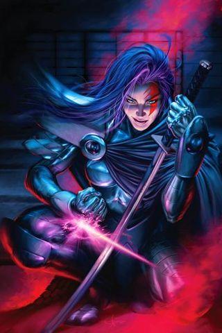 Psylocke from the X-Men