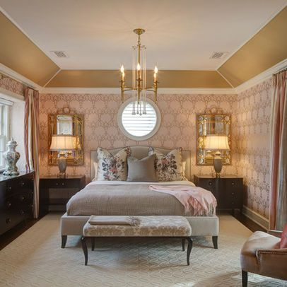 Bedroom Angled Tray Ceiling Design Ideas Pictures