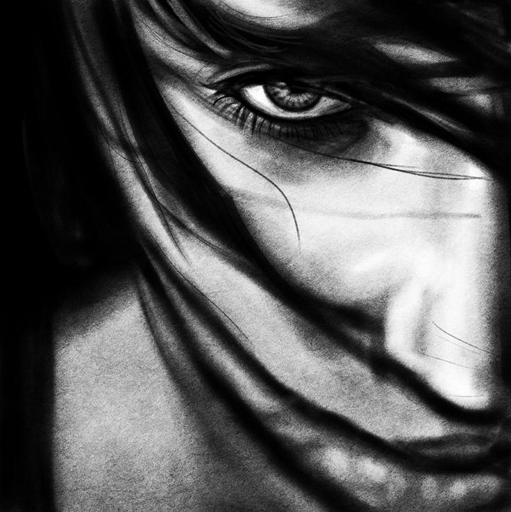 black white painting - Google zoeken | Beeldende vorming ...