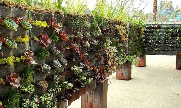 Vertical garden felt pockets jardines verticales for Pockets jardin vertical