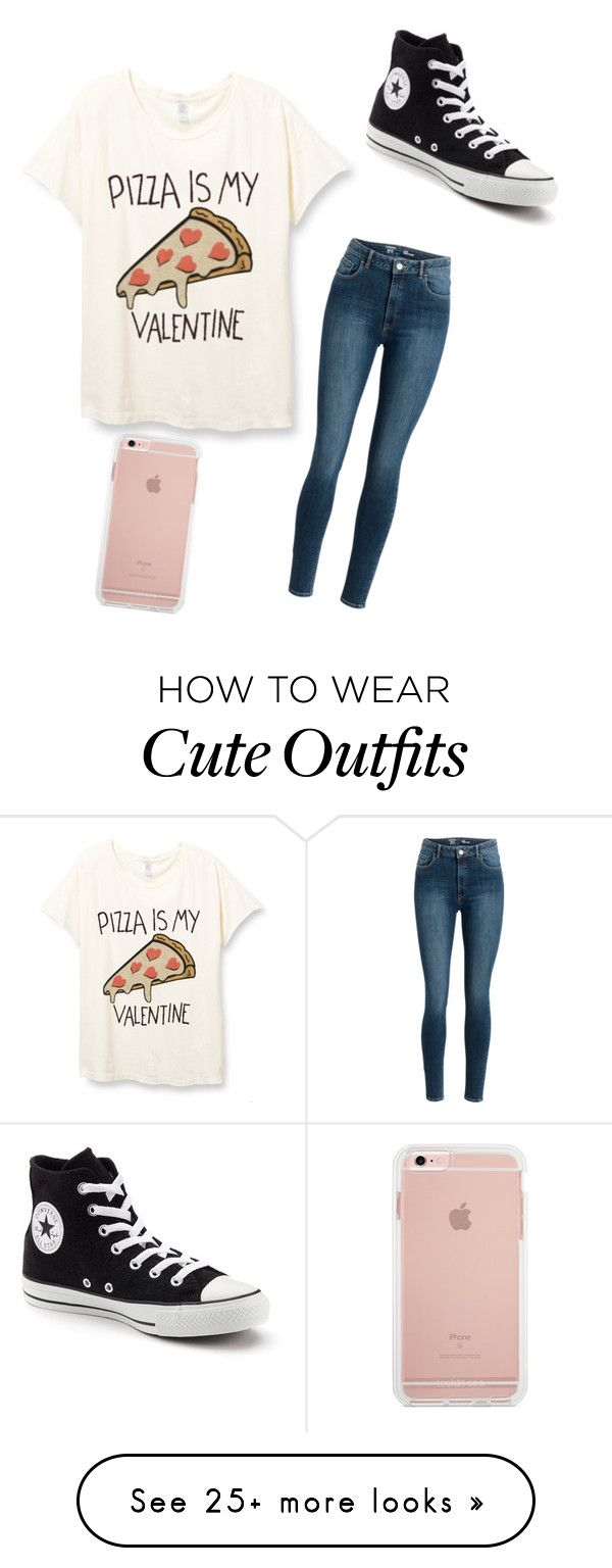 """""""Out and about cute outfit for the day"""" by amina2005-1 on Polyvore featuring Converse"""