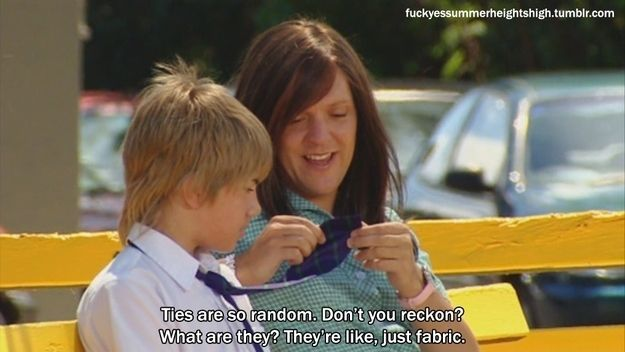 You can strike up a conversation with just about anyone. | 17 Reasons Why Ja'mie King Is Your Spirit Animal