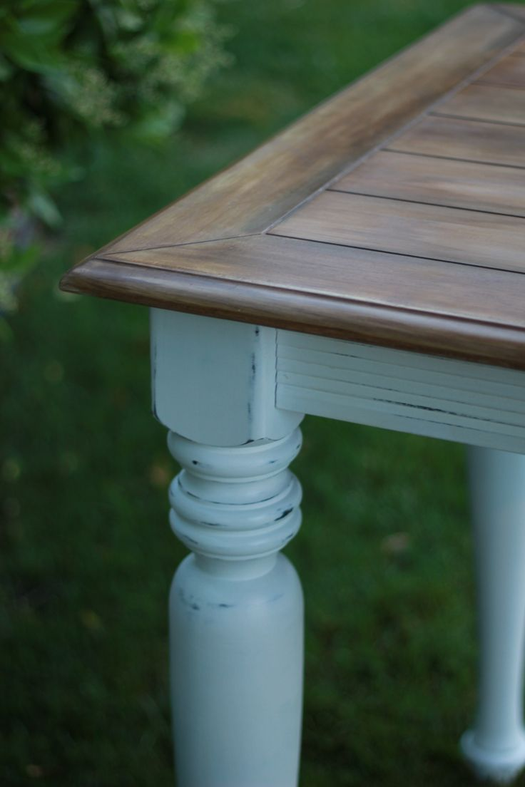 Weathered Wood Look Using Bb Fr 246 Sch Chalk Paint Powder