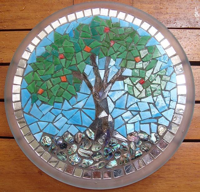 Mosaic Tree Flickr Photo Sharing Craft Mosaic