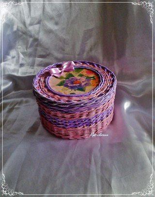 Плетеные изделия - Мастерская Два совенка!