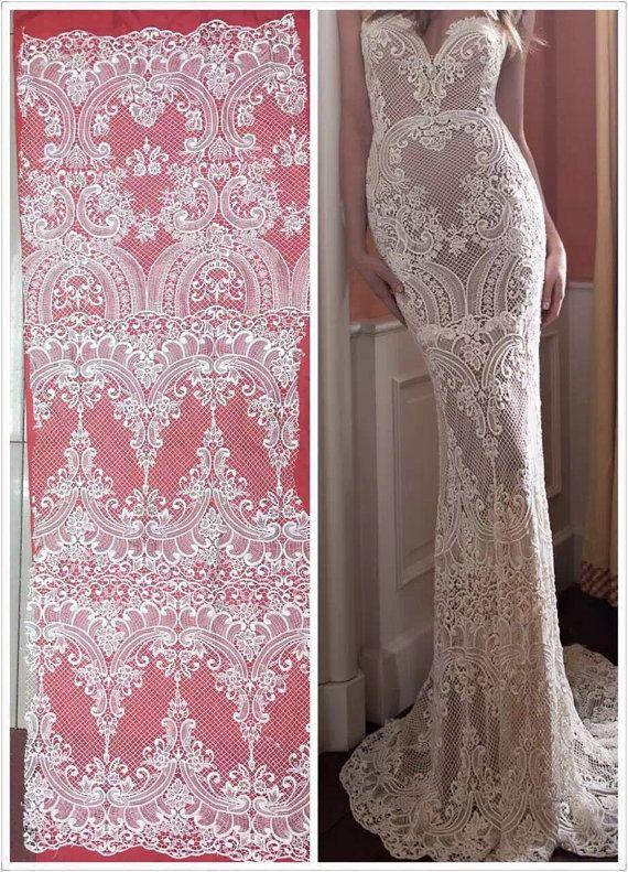 Tulle bridal lace fabric elegent wedding lace fabric high quality guipure lace fabric,3D lace fabric,lingerie lace fabric,embroidery lace by Jennylacefabric on Etsy
