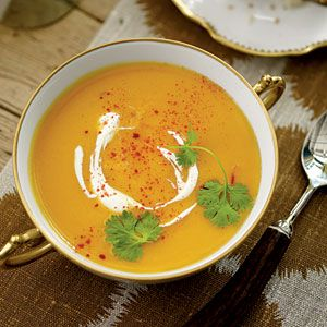 Make the soup through Step 2 the day before. Reheat, and stir in the lime juice before serving.