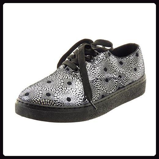 Sopily - damen Mode Schuhe Sneaker camouflage - Schwarz WLD-14-151-22 T 41 - Sneakers für frauen (*Partner-Link)