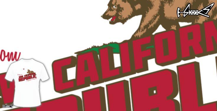 Magliette+Greetings+from+New+California+Republic+-+Disegnato+da+:+Chesterika
