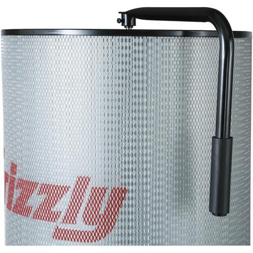 2HP Canister Dust Collector with Aluminum Impeller - Polar Bear Series | Grizzly Industrial