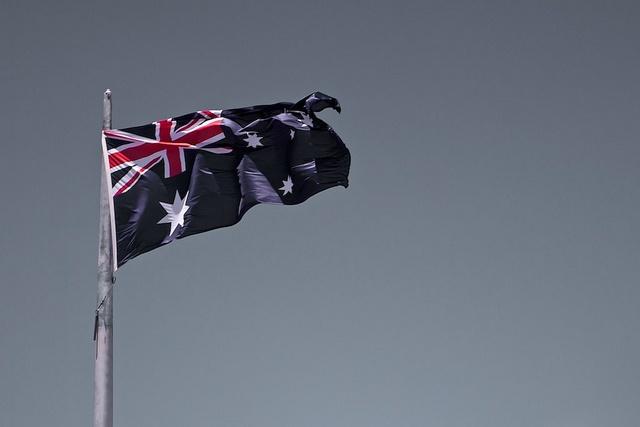 Australian Flag by huskyte77, via Flickr