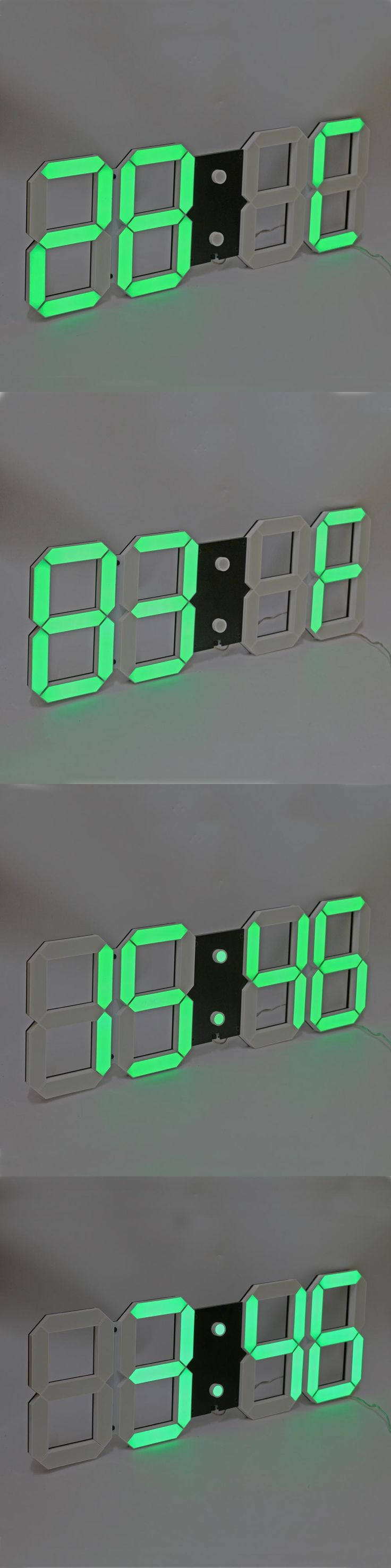 Best 25 led wall clock ideas on pinterest boy dorm rooms cool 3d digital led wall clock large countdown count up timer with remote control support alarm temperature amipublicfo Image collections
