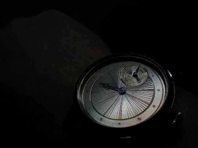 """""""Faberge"""" hand guilloche dial."""