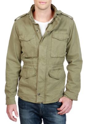 Lucky Brand Men's M-65 Field Jacket - Deep Lichen Green - 2Xl