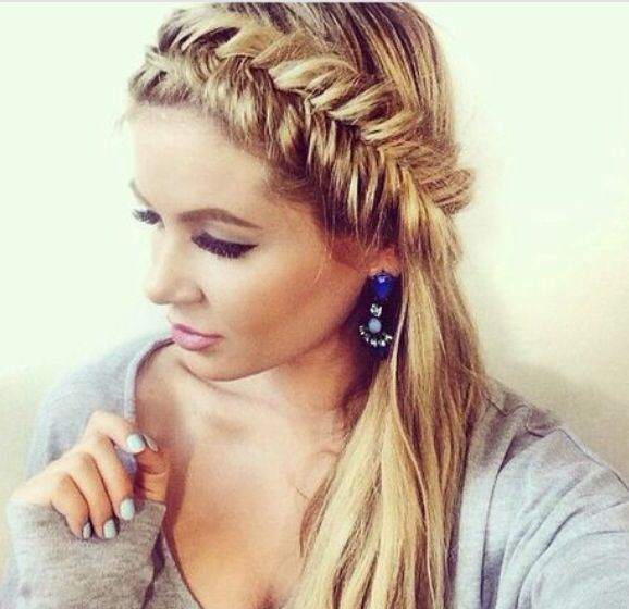 186 Best Images About Hair Styles- Half Up, Half Down On