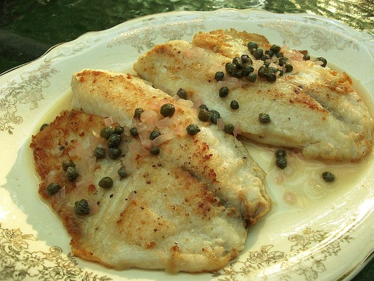 Healthy Tilapia Recipes | Easy Tilapia Piccata Recipe -- Tilapia with Lemon Caper Sauce