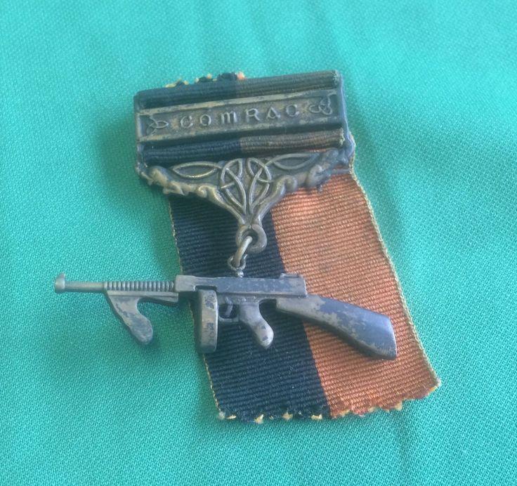 IRA MEDAL? 1916 RISING IRISH VOLUNTEERS IRELAND REPUBLICAN THOMPSON COMRAC in Collectables, Militaria, World War I (1914-1918) | eBay