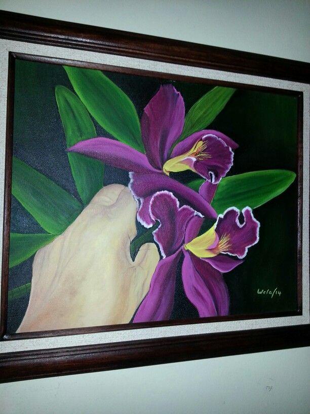 Wela creaciones orquídea